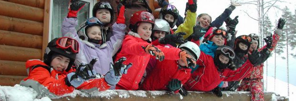 Подбрать детские горные лыжи для ребёнка