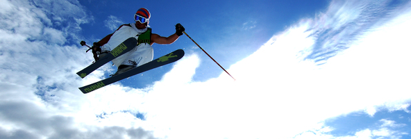 Научиться кататься на горных лыжах