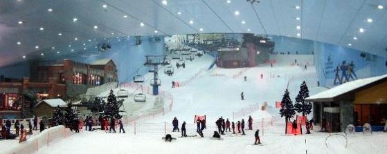 Горные лыжи летом