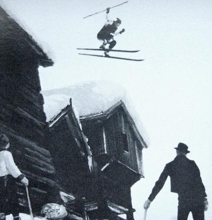 История появления горных лыж