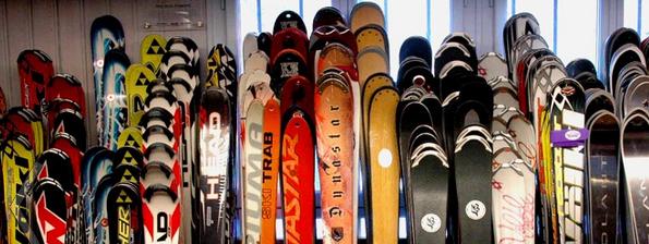Как хранить горные лыжи?